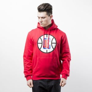 Bluza Mitchell & Ness Los Angeles Clippers red Team Logo Pullover Hoody