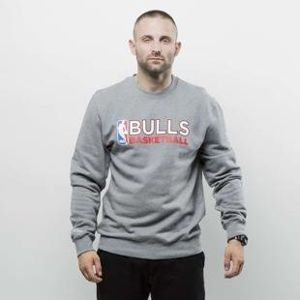 Bluza Mitchell & Ness crewneck Chicago Bulls grey heather Team Issued