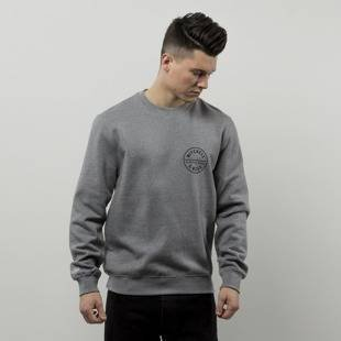 Bluza Mitchell & Ness sweatshirt M&N Own Brand Crewneck grey heather Hook Shot