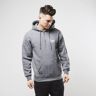 Bluza Phenotype sweatshirt 1/4 Zippers Hoodie grey
