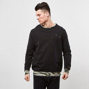 Bluza Rocawear sweatshirt Camo Area Sweater black