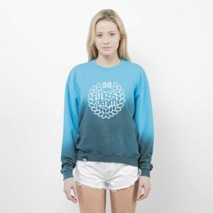 Bluza Saint Mass Crewneck Base Fade blue / green