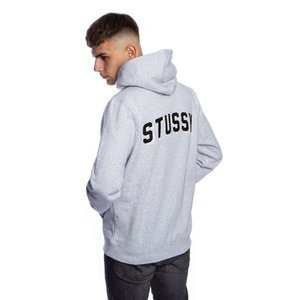Bluza Stussy Sweatshirt Arch App. Hood grey heather