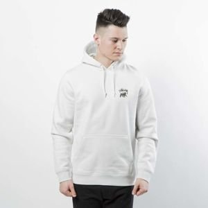 Bluza Stussy Sweatshirt Lion Shield Hood stone