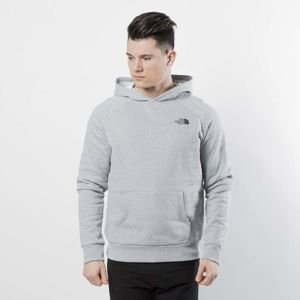 Bluza The North Face Raglan Red Box Hoodie light grey heather T92ZWUDYX