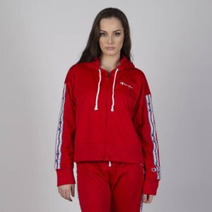 Bluza damska Champion Reverse Weave Full Zip Top red