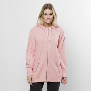 Bluza damska Champion Sweatshirt Full Zip Hoodie dusty rose