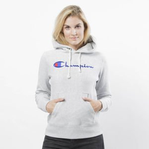 Bluza damska Champion Sweatshirt Reverse Weave Hoody grey heather