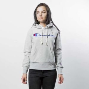 Bluza damska Champion Sweatshirt Reverse Weave Hoody heather grey 110034/F17/EM004
