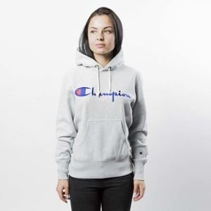 Bluza damska Champion Sweatshirt Reverse Weave Hoody heather grey 209758/S17/8856