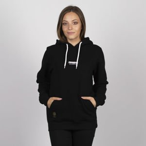 Bluza damska Mass Denim Classics SL Embroidered Sweatshirt Hoody WMNS black LIMITED EDITION