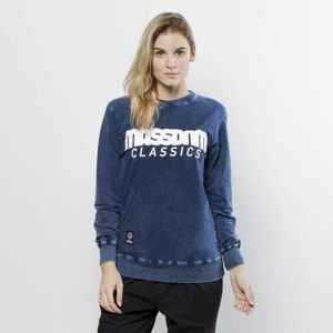 Bluza damska Mass Denim Sweatshirt Crewneck WMNS Classics dark blue LIMITED EDITION