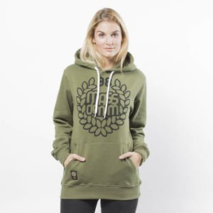 Bluza damska Mass Denim Sweatshirt Hoody Base WMNS khaki