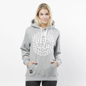 Bluza damska Mass Denim Sweatshirt Hoody Base WMNS light heather grey