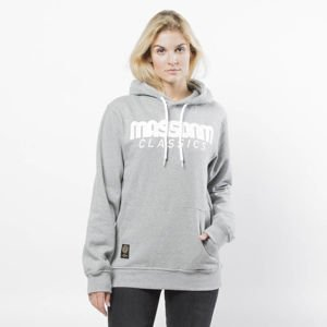 Bluza damska Mass Denim Sweatshirt Hoody Classics WMNS light heather grey