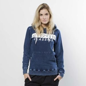 Bluza damska Mass Denim Sweatshirt Hoody WMNS Classics dark blue LIMITED EDITION