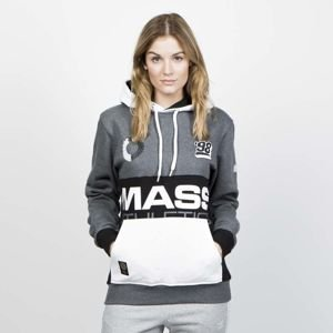 Bluza damska Mass Denim Sweatshirt Meeting Hoody dark heather grey WMNS