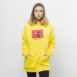 Bluza damska We Peace It Trust Me Hoodie yellow
