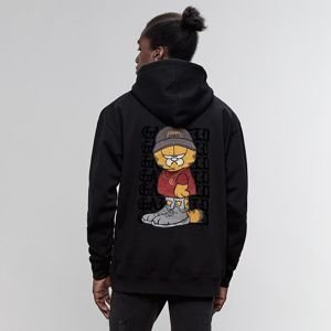 Bluza męska Cayler & Sons WL Merch Garfield Hlf Zip Box Hoody black / mc