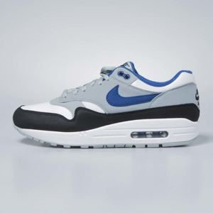 Buty Nike Air Max 1 white / gym blue - light pumice AH8145-102