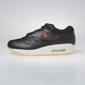 Buty Sneakers WMNS Nike Air Max 1 PRM black/black-gum yellow (454746-020)