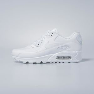 Buty damskie sneakers Nike WMNS Air Max 90 Leather white / white - white 921304-101