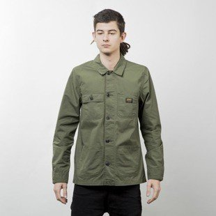 Carhartt WIP kurtka Michigan Chore Coat rover green rinsed