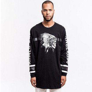 Cayler & Sons BLACK LABEL koszulka Armed & Dangerous Longsleeve black/ white BL-CAY-AW16-AP-19-01