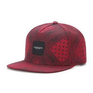 Cayler & Sons Black Label snapback czapka Paiz Cap wine / black BL-CAY-AW16-08-02