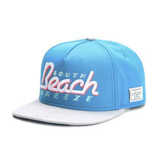 Cayler & Sons Green Label snapback czapka SB Breeze Cap teal / grey / pink / white (GL-CAY-SS16-05)