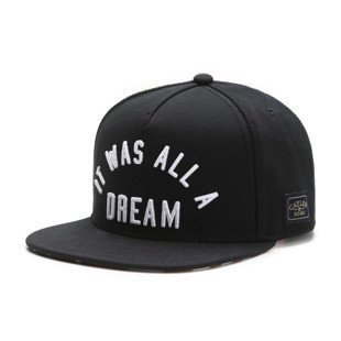 Cayler & Sons White Label snapback czapka A Dream Cap black / red WL-CAY-SU16-07