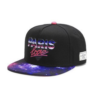 Cayler & Sons White Label snapback czapka Paris Love Cap black / pink mc (WL-CAY-SS16-15)