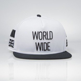 Cayler & Sons czapka World Wide Cap white / black BL-CAY-AW15-16