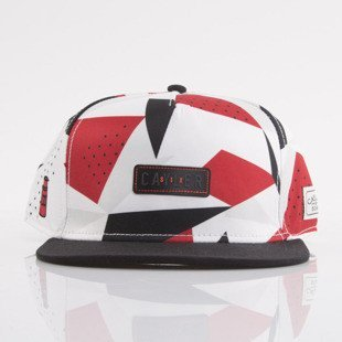 Cayler & Sons czapka snapback 1991 Square red / white / black (WL-CAY-AW15-25-OS)