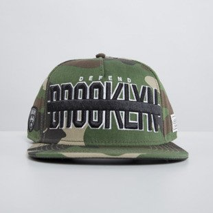Cayler & Sons czapka snapback Brooklyn Soldier woodland WL-CAY-HD15-12
