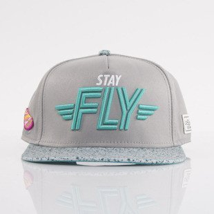 Cayler & Sons czapka snapback Marty grey / turquoise / white (WL-CAY-AW15-24-OS)