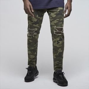 Cayler & Sons spodnie Unchained Tim Denim Pants woodland camo