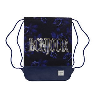 Cayler & Sons worek Bonjour Gymbag navy / gold WL-CAY-AW16-GB-05