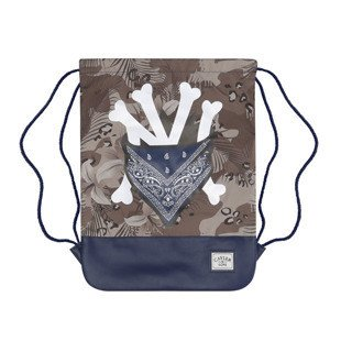 Cayler & Sons worek Grime Gymbag navy / desert flowers / white WL-CAY-SU16-GB-08