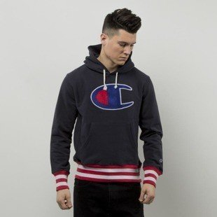 Champion bluza sweatshirt  Reverse Weave Sweat Hoody navy 2098763S16-2192