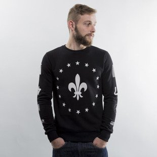 Criminal Damage bluza Fleur Star Sweater black