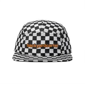 Czapka Backyard Cartel 5 Panel Cap Delete black / white