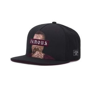 Czapka Cayler & Sons C&S WL Drop Out Cap black/bordeaux