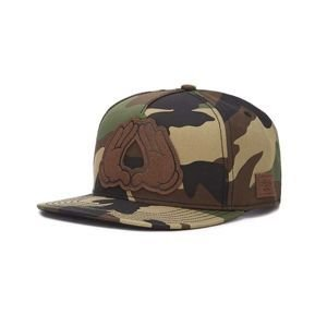 Czapka Cayler & Sons C&S WL Dynasty Lux Cap woodland/black