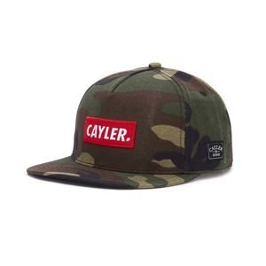 Czapka Cayler & Sons C&S WL Statement Cap woodland/red