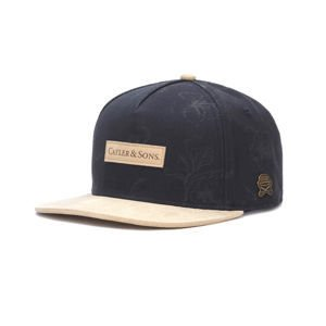 Czapka Cayler & Sons COPPER LABEL C&S CL Vibin' Cap navy / sand