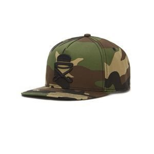 Czapka Cayler & Sons PREMIUM AUTHENTICS PA Icon Cap woodland camo / black
