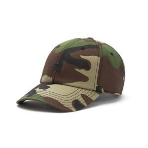Czapka Cayler & Sons Premium Authentics Small Icon Curved Cap woodland camo / black