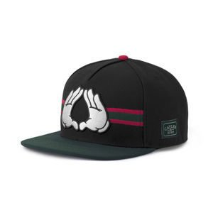 Czapka Cayler & Sons WHITE LABEL Dynasty Cap black / green