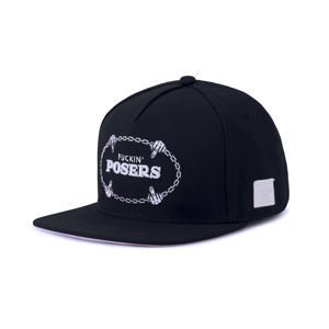Czapka Cayler & Sons WHITE LABEL Posers Cap black / white